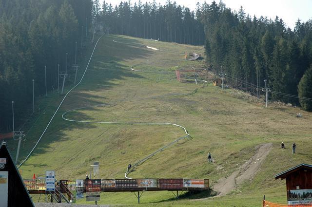 Summer bobsleigh track Žiarce