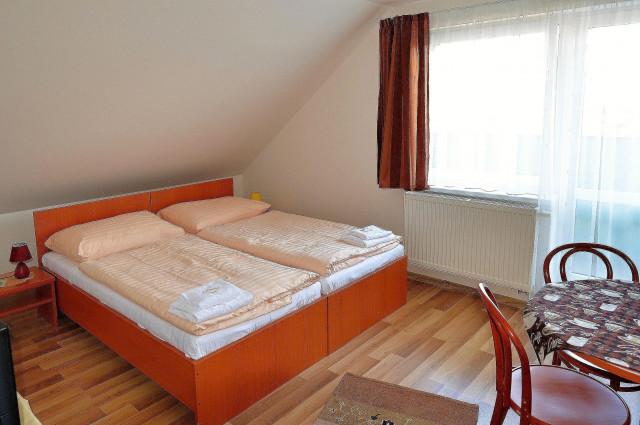 Mezonetový apartmán - spálňa