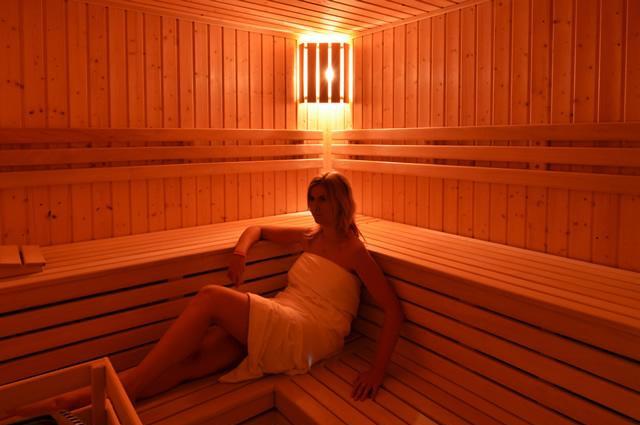 Fínska sauna priamo v objekte apartmánov